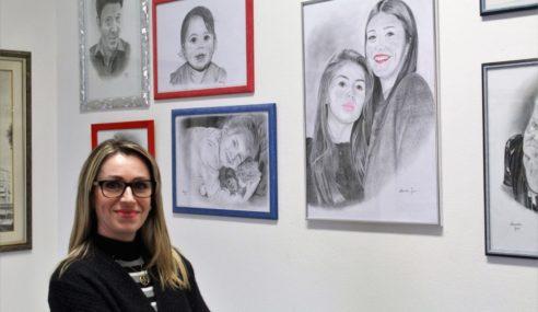 Alessandra Fanni: una matita per ricominciare a vivere