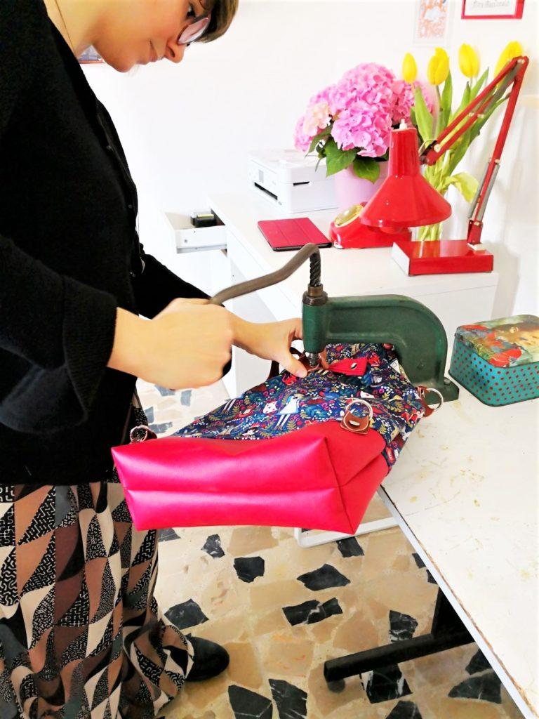 assemblaggio borsa