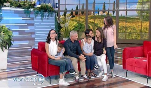 Vieni da Me: La Frack e famiglia nel salotto della Balivo