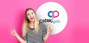 Coding Girls - quote rosa