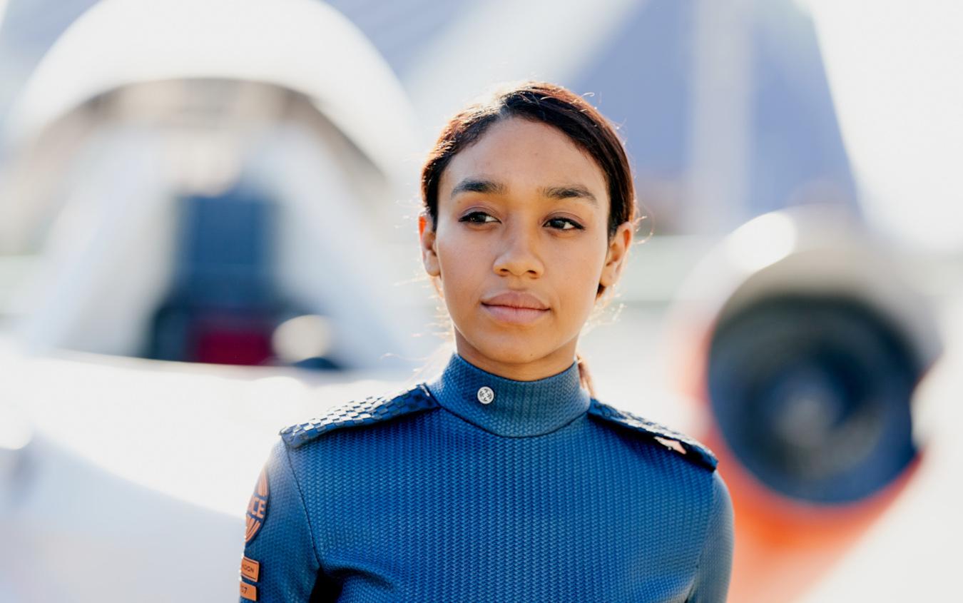 Ash Harper, la protagonista di Intergalactic