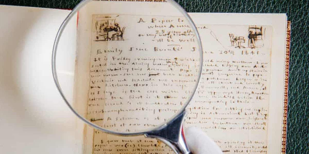 Manoscritti e lettere delle sorelle Brontë